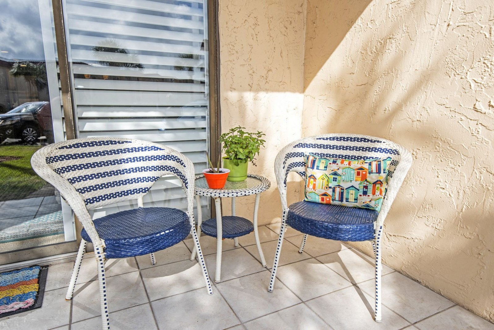 Cute Patio Seating