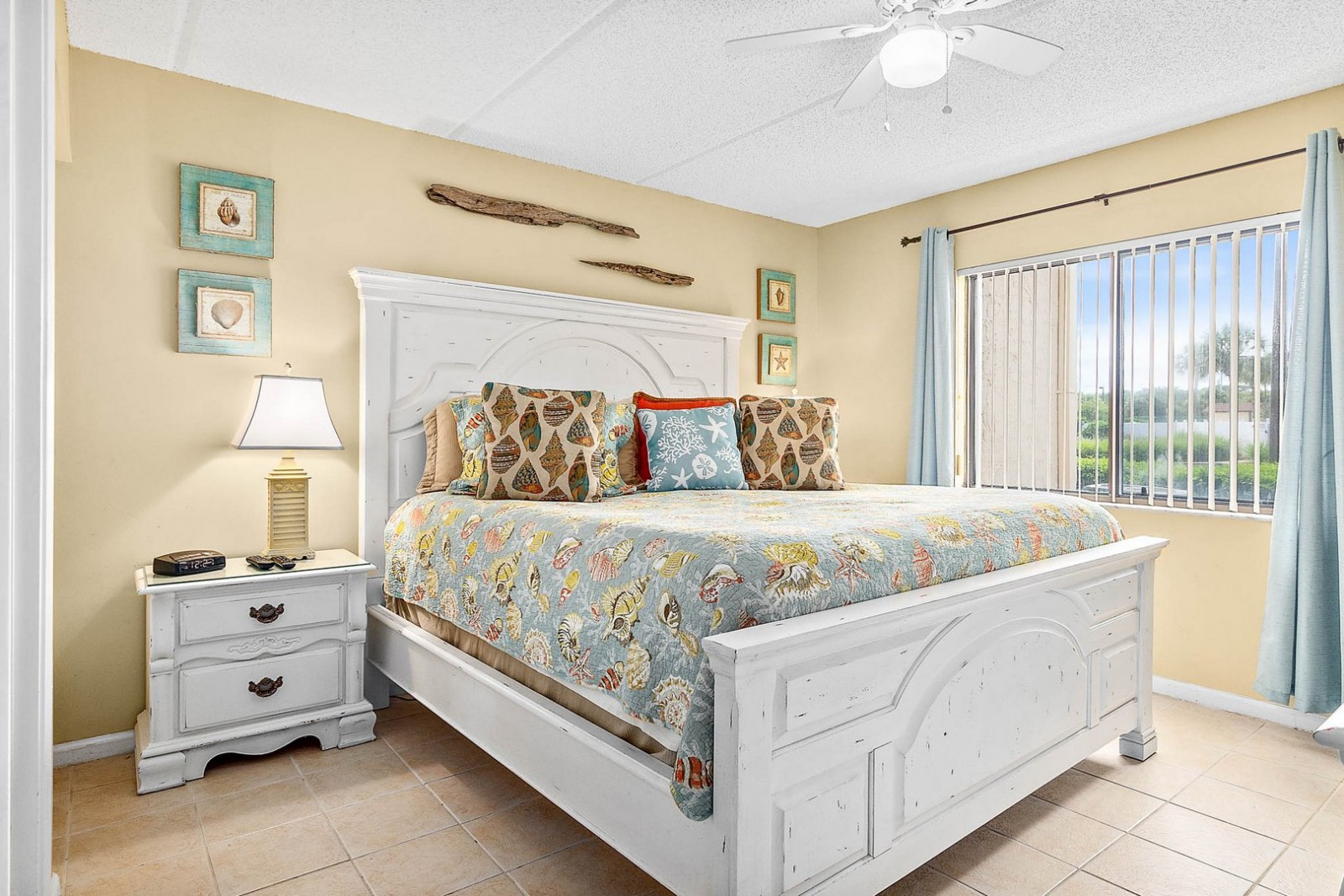 Master Bedroom--King Sized Coastal