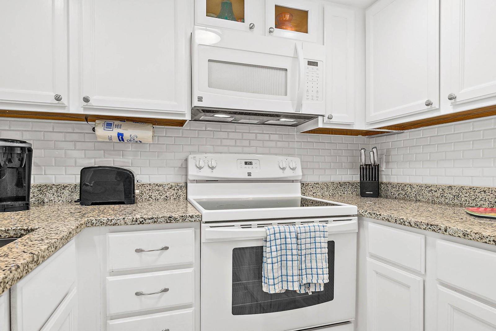 Coastal Kitchen Stove