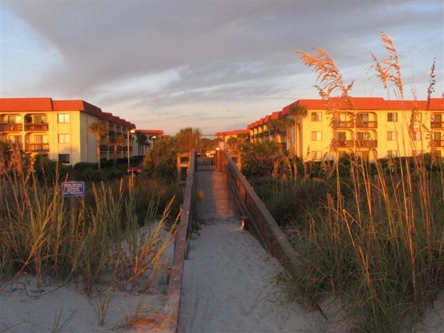 Beach Walkover to the Property