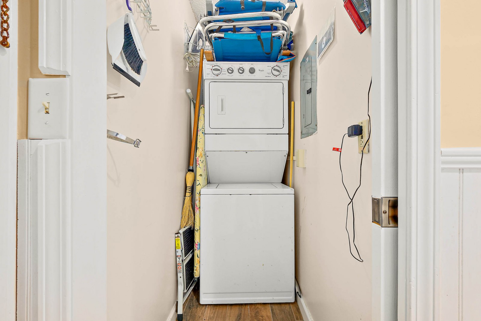 Laundry Area--Pack Lightly!