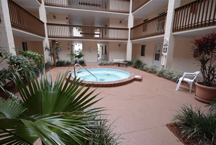 Jacuzzi Villa Condos from St. Augustine Ocean and Racquet Resort
