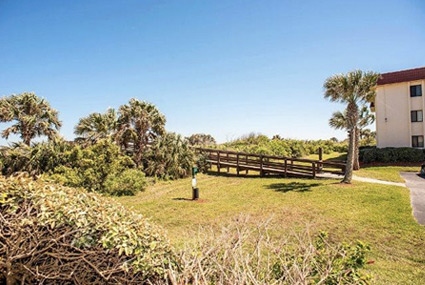 Oceanfront Condos from St. Augustine Ocean and Racquet Resort