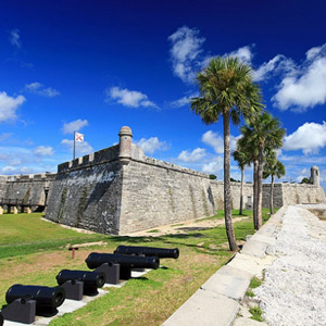 Historical sites in St. Augustine